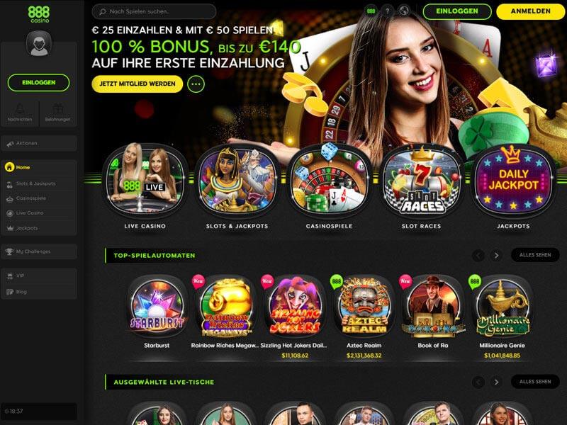 Casino Gratis Online 888